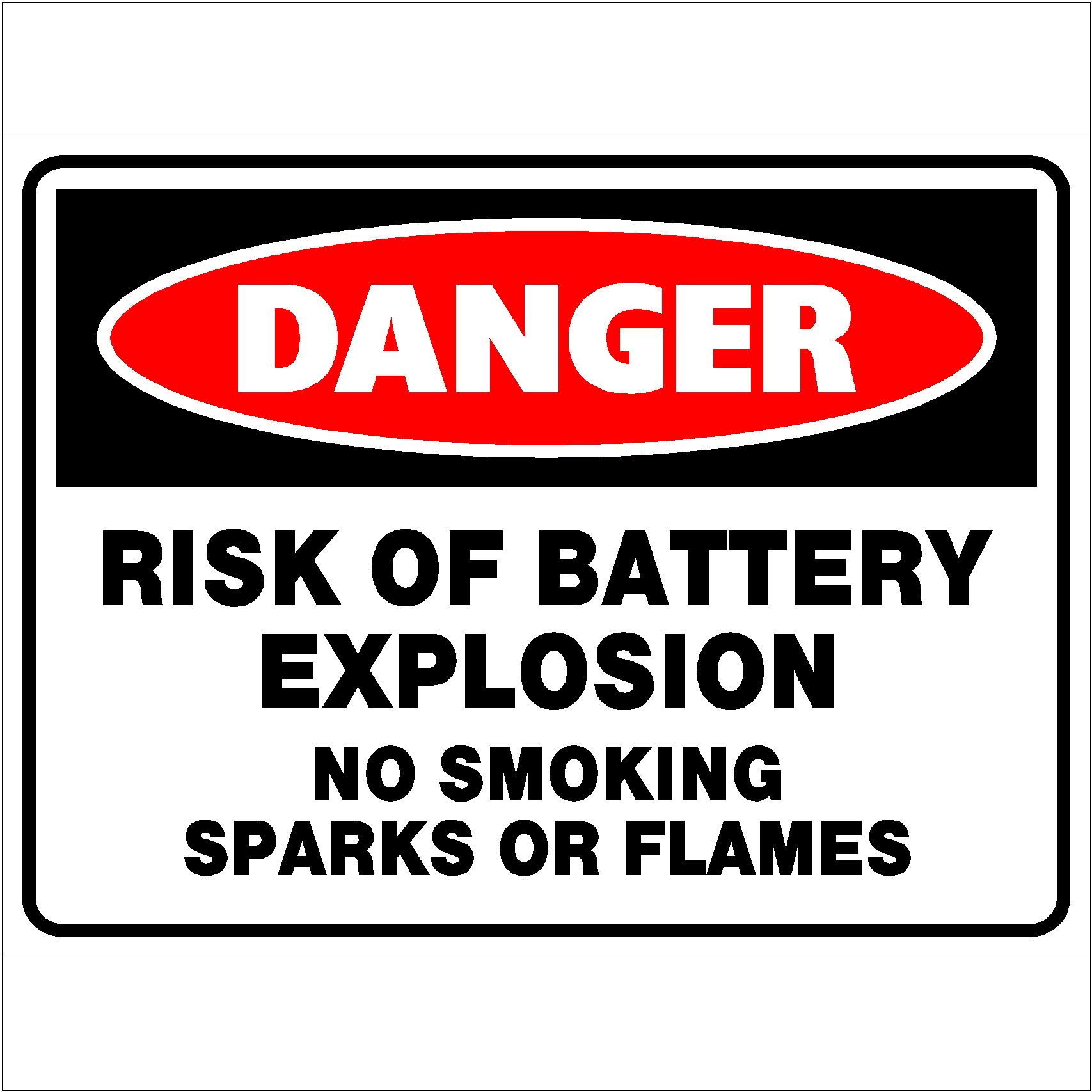 Danger Risk Of Battery Explosion