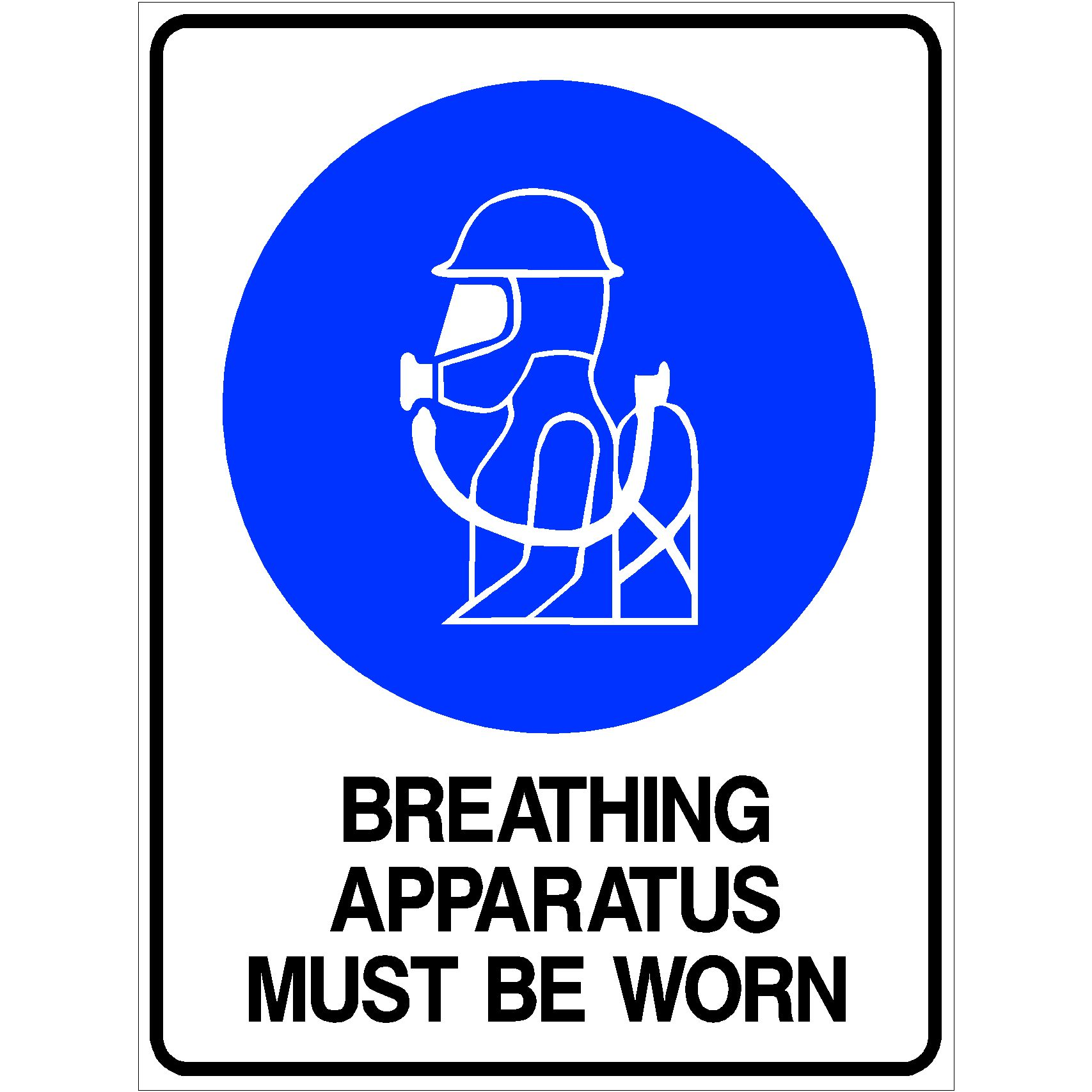 Breathing Apparatus Must Be Worn