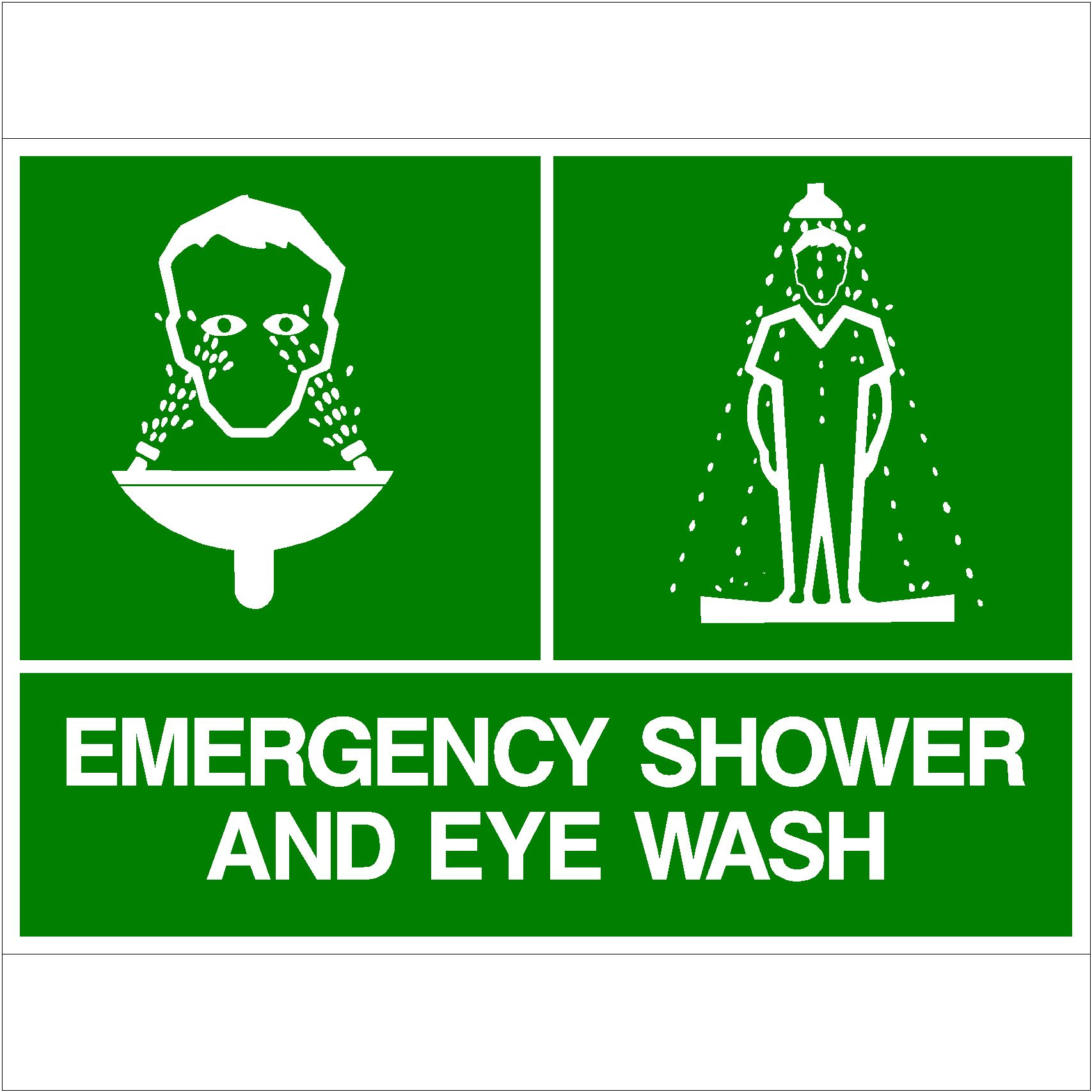 Emergency Shower and Eyewash